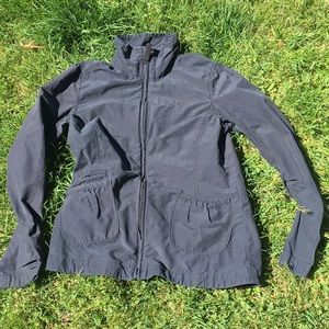 Outdoorsy chic fall jacket